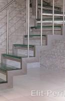 Лестница из нержавейки Доброполье