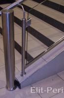 Ограждение для лестниц из нержавейки