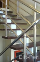 Установка подвесных лестниц