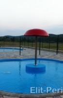 Фонтаны для бассейнов из нержавеющей стали