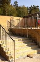 Лестнечные ограджения из нержавейки