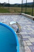 Фонтаны для бассейнов из нержавейки
