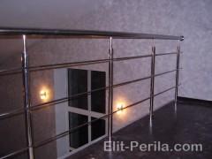 Ограждения для балконов из нержавейки