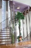 Установка лестниц из нержавеющей стали